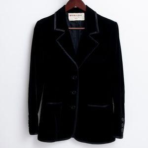 Rare VTG Saint Laurent made in USA Velvet Blazer